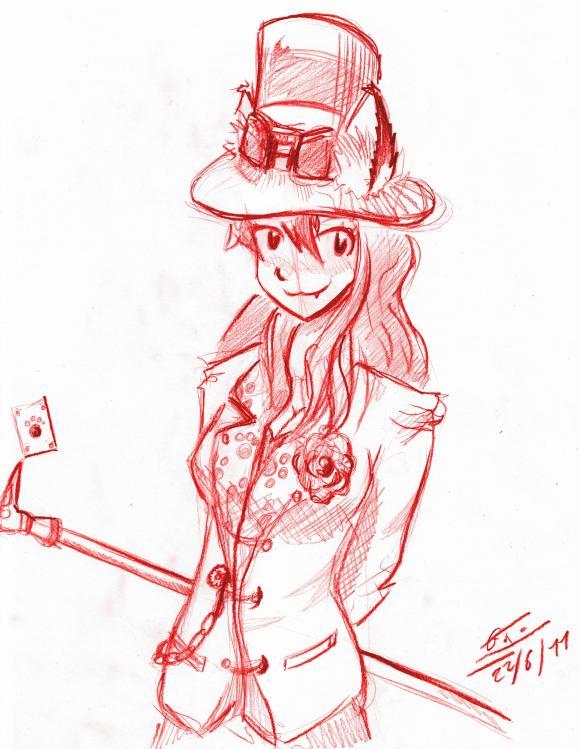 dessin,ditret,steampunk,crayon,girl,boy