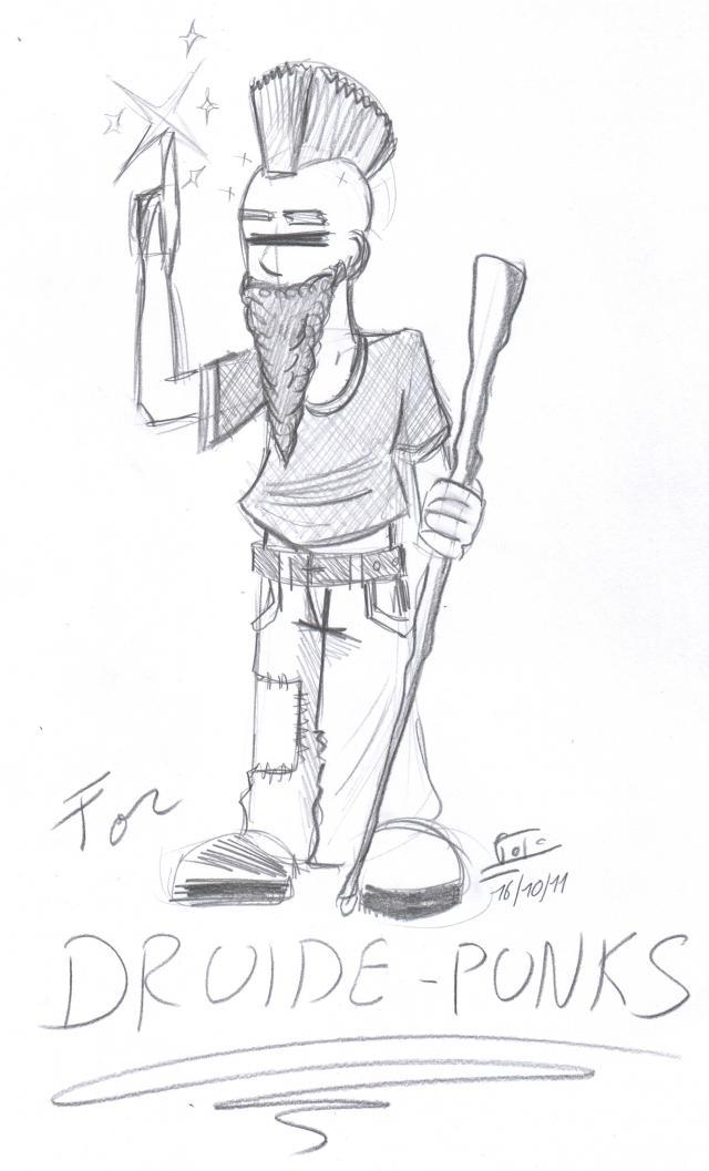 dessin de ditret pour DruidePunk